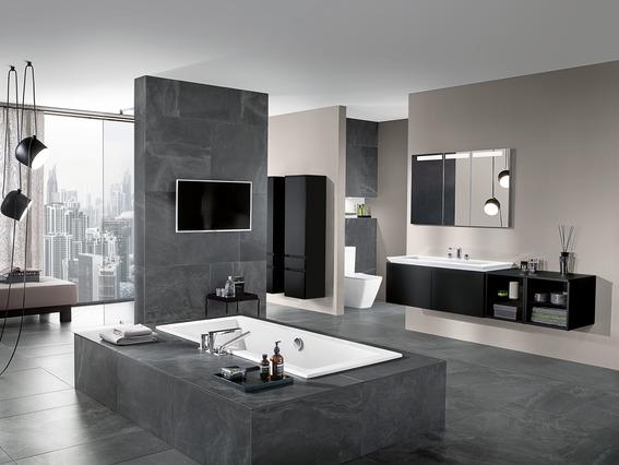 Entspannt zum Traum Bad mit Möbeln von Villeroy and Boch