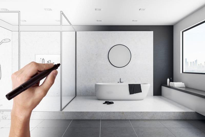 Renovierung und Sanierung Ihres Badezimmers